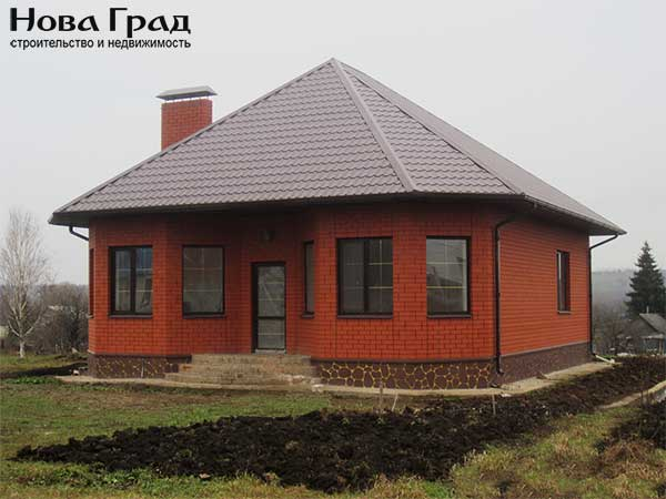 Дачный дом из бруса 6 на 7 с мансардой — проект, цена